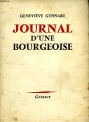 Journal D Une Bourgeoise. - Couverture - Format classique