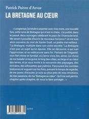 La Bretagne au coeur - 4ème de couverture - Format classique