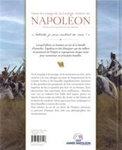 Dans les rangs de la Grande Armée de Napoléon - 4ème de couverture - Format classique