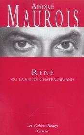 Rene ou la vie de chateaubriand - (*) - Intérieur - Format classique