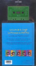 La Princesse Au Petit Pois ; Le Livre De La Jungle - 4ème de couverture - Format classique