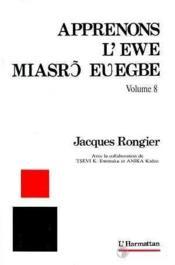 Apprenons L'Ewe 8 - Couverture - Format classique
