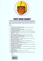 Tout Buck Danny ; INTEGRALE VOL.12 ; T.38 A T.40 ; mission aerienne anti-mafia - 4ème de couverture - Format classique