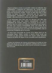 La fabrique du génie - 4ème de couverture - Format classique