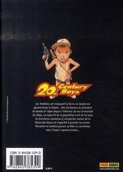 20th century boys t.17 - 4ème de couverture - Format classique
