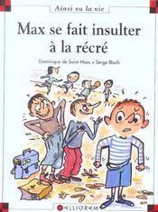 Max se fait insulter à la récré - Intérieur - Format classique