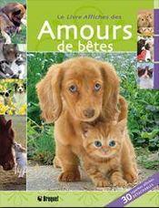 Livre-affiches des amours de bêtes - Intérieur - Format classique