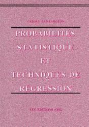 Probabilites statistique et techniques de regression - Couverture - Format classique