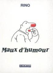 Maux d'humour - Couverture - Format classique