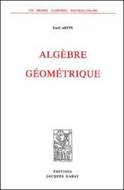 Algèbre géométrique - Couverture - Format classique
