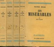 Les Miserables. En 4 Tomes. - Couverture - Format classique