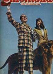 CINEMONDE - 19e ANNEE - N° 873 - HAROLD LLOYD fait sa rentrée à l'écran dans l'étourdissante comédie de Preston Sturges OH! QUEL MERCREDI! - Couverture - Format classique