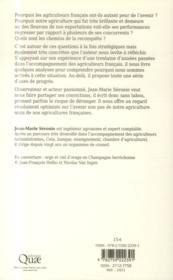 L'agriculture française ; une diva à réveiller - 4ème de couverture - Format classique