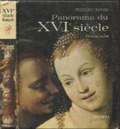 Xvi E Siecle Francais - La Renaissance - Couverture - Format classique