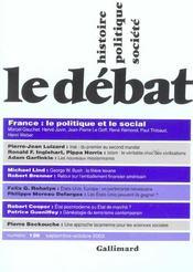 Revue Le Débat N.126 ; septembre-octobre 2003 - Intérieur - Format classique