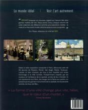Peindre Paris ; visions d'artistes de la Ville lumière - 4ème de couverture - Format classique