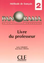 Panorama 2 professeur 2004 (édition 2004) - Couverture - Format classique