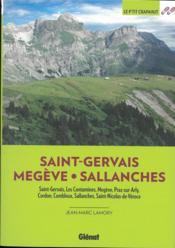 Saint-Gervais : Megève, Sallanches (2e édition) - Couverture - Format classique