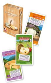 Les fromages de France ; jeu de 7 familles - Couverture - Format classique