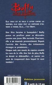 Buffy contre les vampires T.3 ; la lune des coyottes - 4ème de couverture - Format classique