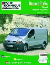 Rta 655.1 Renault Trafic Diesel Depuis 5/01 - Couverture - Format classique