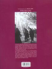 Sa saintete le xive dalai lama, voyage pour la paix - 4ème de couverture - Format classique