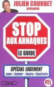 Stop aux arnaques logement - Intérieur - Format classique
