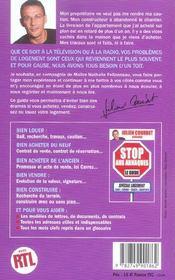 Stop aux arnaques logement - 4ème de couverture - Format classique