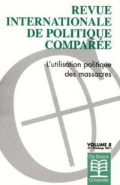 Revue Internationale De Politique Comparee N.1 - Couverture - Format classique