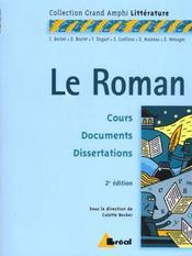 Le roman - Intérieur - Format classique