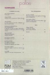 Revue Pallas T.71 ; de la tablette a la scène - 4ème de couverture - Format classique