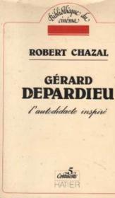 Gérard depardieu - Couverture - Format classique