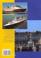 Paquebots autour du monde edition 2001 - 4ème de couverture - Format classique