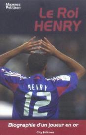 Thierry henry - Couverture - Format classique