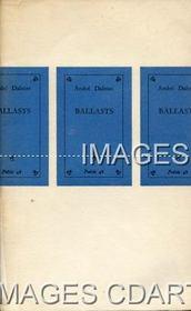 BALLASTS. POEMES. COLLECTION POESIE 48. (Poids de 40 grammes) - Couverture - Format classique