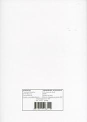 Obligations (Iii) - Regime General (2007) - 4ème de couverture - Format classique