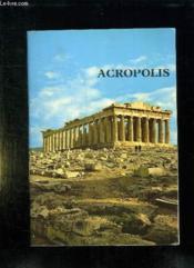 Acropolis. - Couverture - Format classique