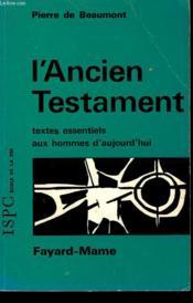 L'Ancien Testament. - Couverture - Format classique