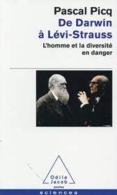 De Darwin à Lévi-Strauss - Couverture - Format classique