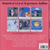 Gaspard et Lisa et le poisson ballon - 4ème de couverture - Format classique