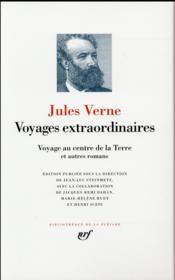 Voyage au centre de la terre et autres romans - Couverture - Format classique