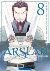 The heroic legend of Arslan T.8 - Couverture - Format classique