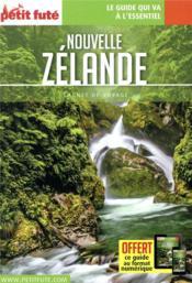 GUIDE PETIT FUTE ; CARNETS DE VOYAGE ; Nouvelle Zélande (édition 2020) - Couverture - Format classique