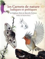 Les carnets de nature ludiques et poétiques - Couverture - Format classique