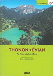 Autour de Thonon et Evian (2e édition) - Couverture - Format classique