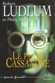 Le pacte de cassandre - Intérieur - Format classique