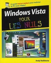 Windows Vista pour les nuls (2e édition) - Intérieur - Format classique