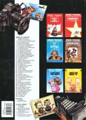 Les aventures de Spirou et Fantasio HORS-SERIE T.1 ; l'héritage - 4ème de couverture - Format classique
