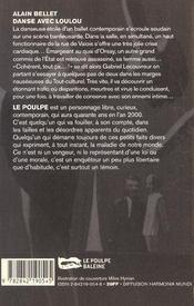 Danse Avec Loulou - 4ème de couverture - Format classique