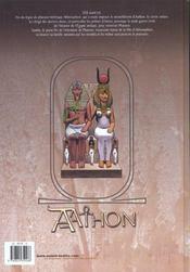 Aathon t.1 ; la fin d'un monde - 4ème de couverture - Format classique